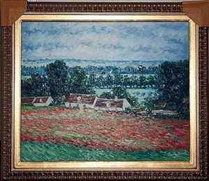5: Monet embellished Giclee' on canvas
