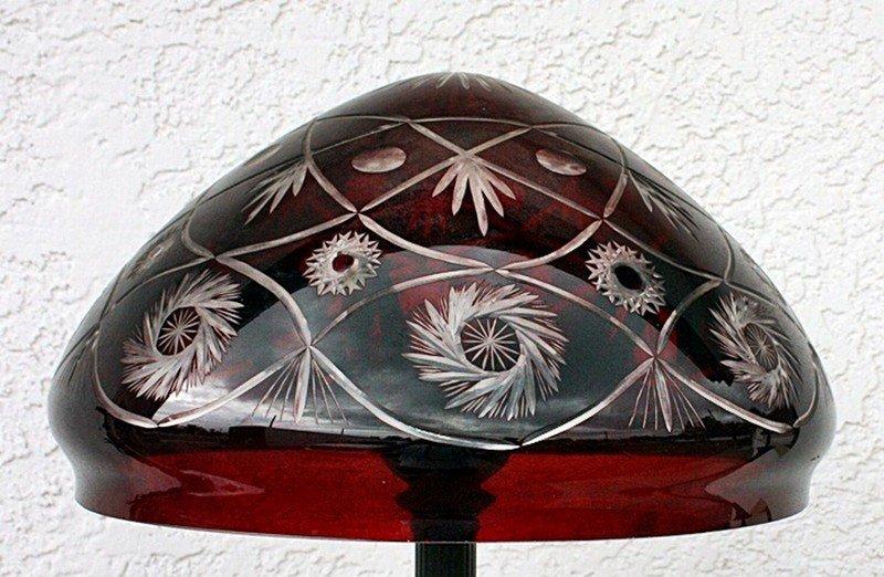 Ornate Glass Floor lamp