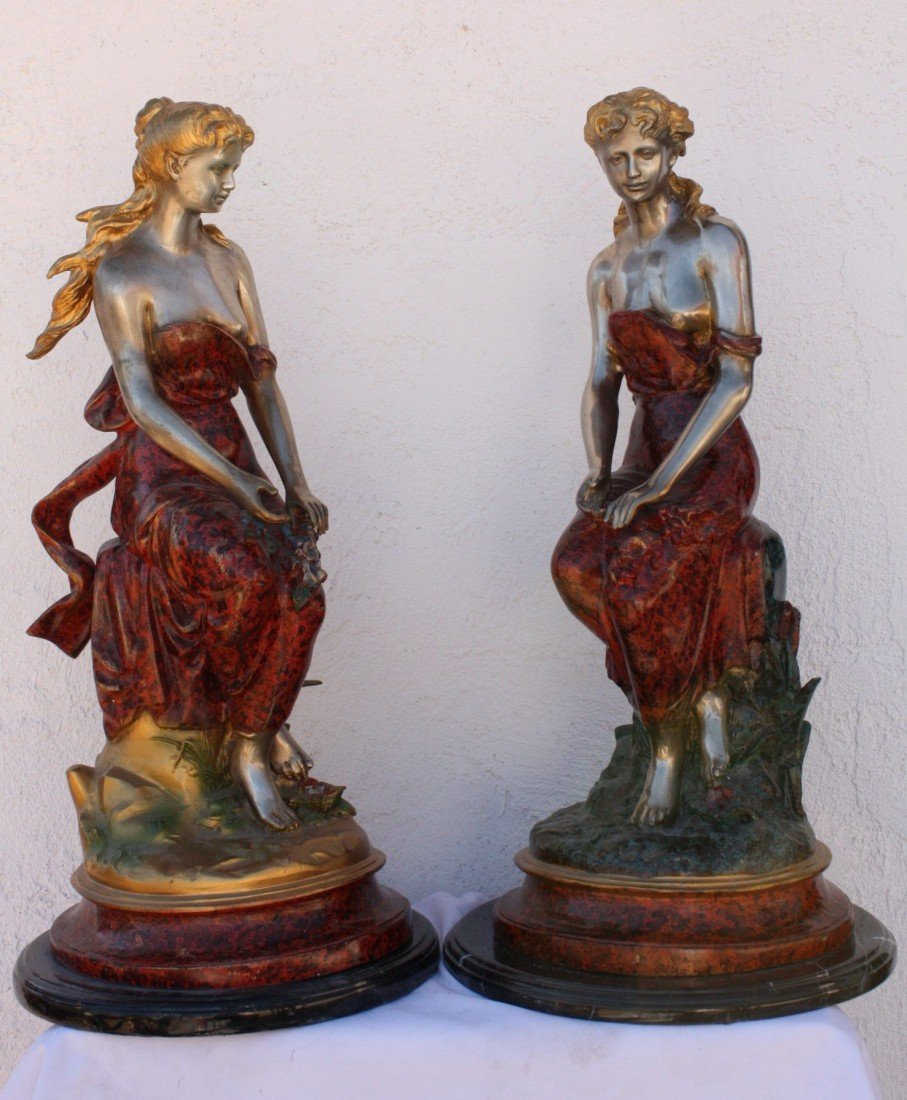 "3T: Lot of ""Classical"" bronze sculptures"