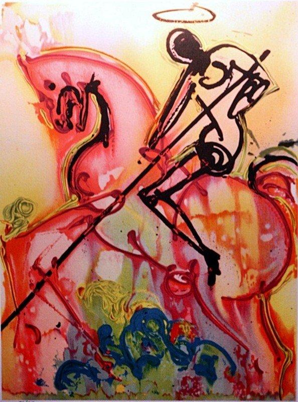 "2B: Dali ""St George and the Dragon"" Ltd.ed."