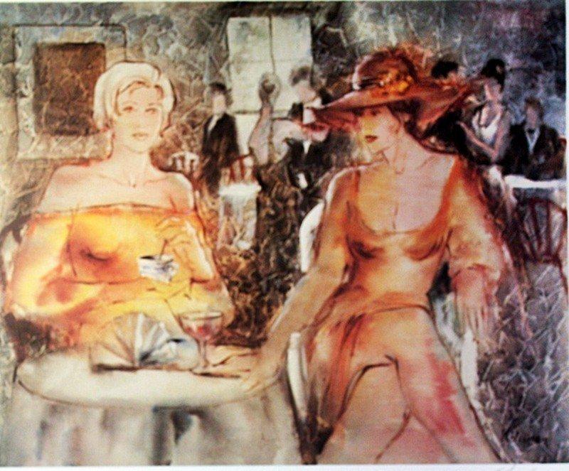 4D: Kolismay Hand signed lithograph