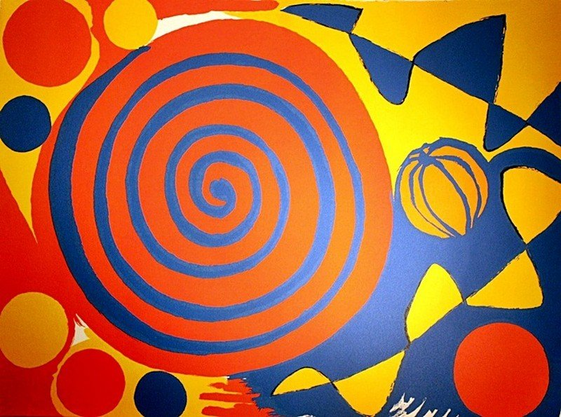 6E: Calder Lithograph