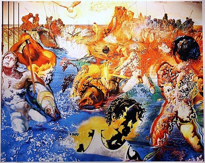 """7B: Dali """"Tuna Fishing"""" Ltd.ed."""