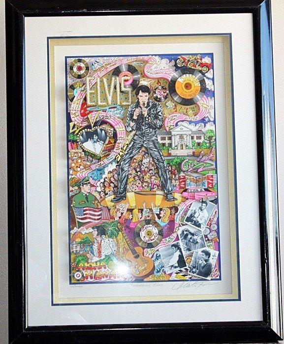 "3: Fazzino ""Remembering Elvis"""