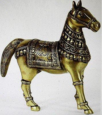 "1A: ""Royal Horse"" sculpture"