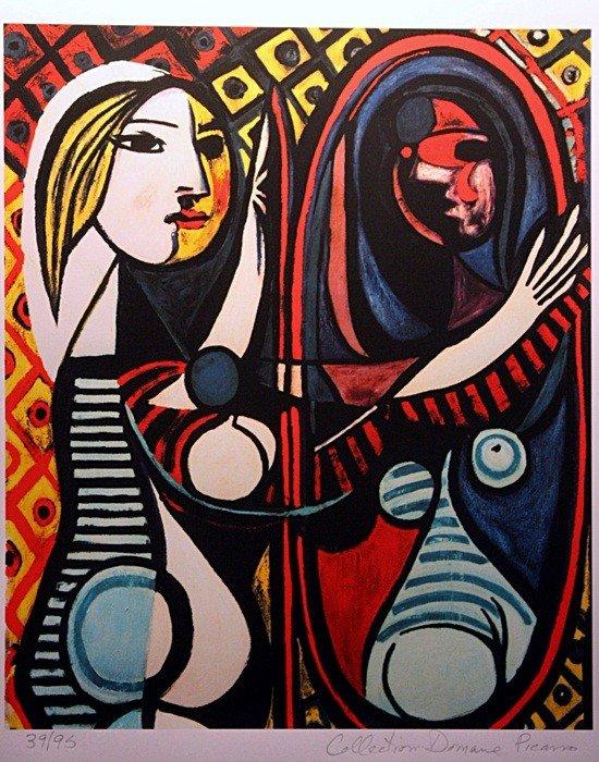 "1F: Picasso ""Girl Before Mirror"" ltd. Ed."