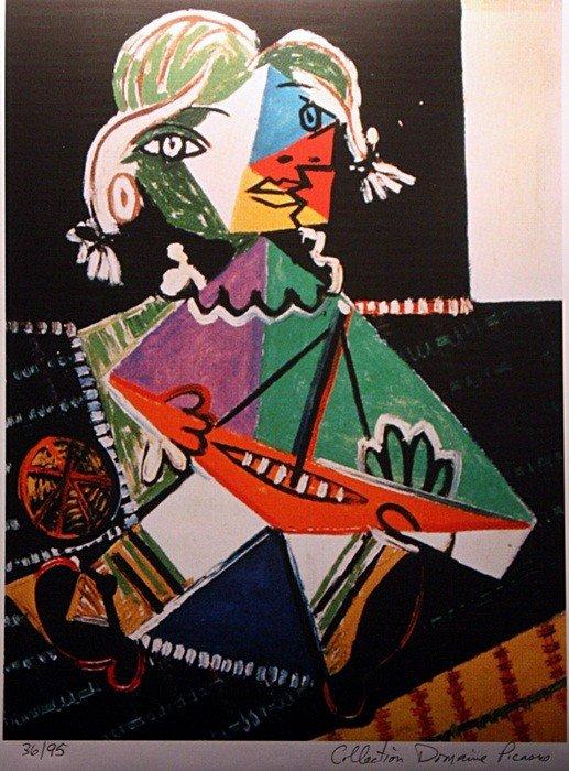"2F: Picasso ""Maya and Boat"" ltd. Ed."