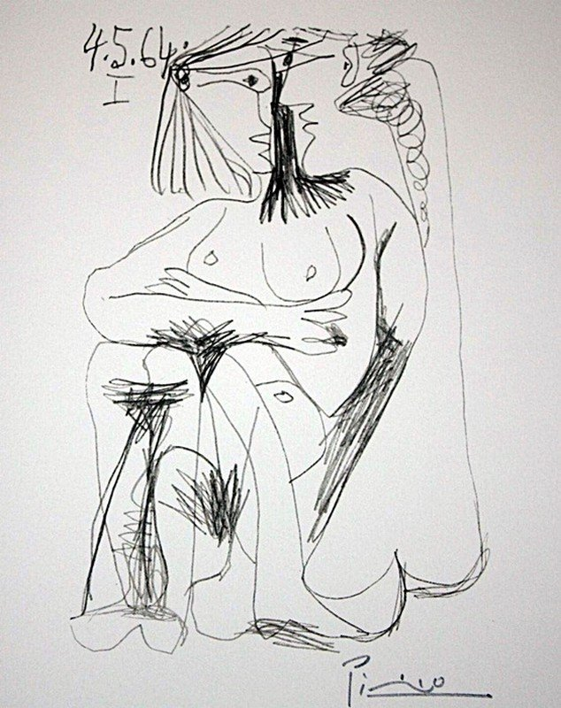 3H: Picasso limited edition lithograph