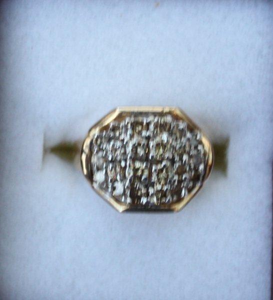 2F: Ladies 2ct Diamond Ring