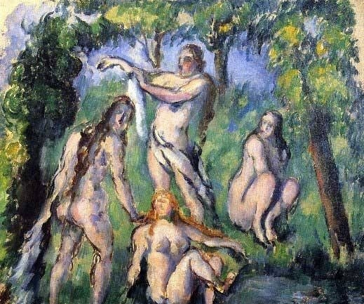 "4A: Cezanne ""Bathers"""