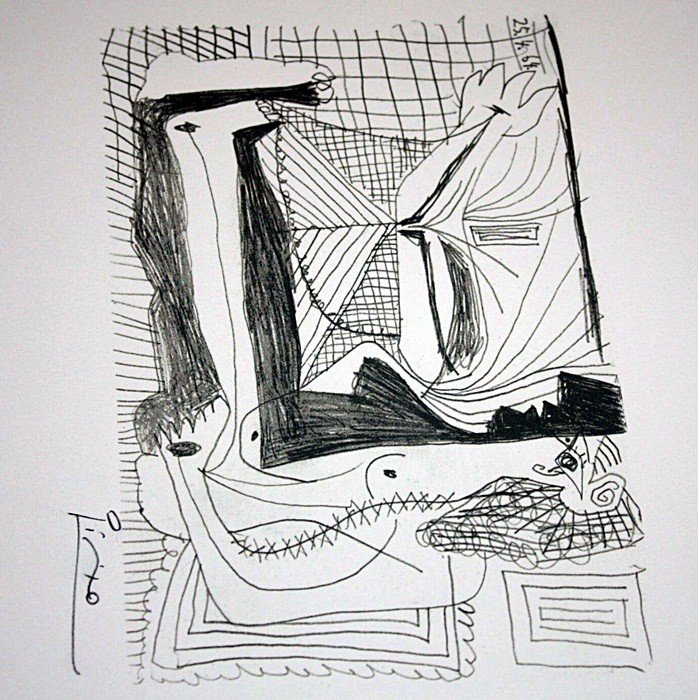 2L: Picasso limited edition lithograph