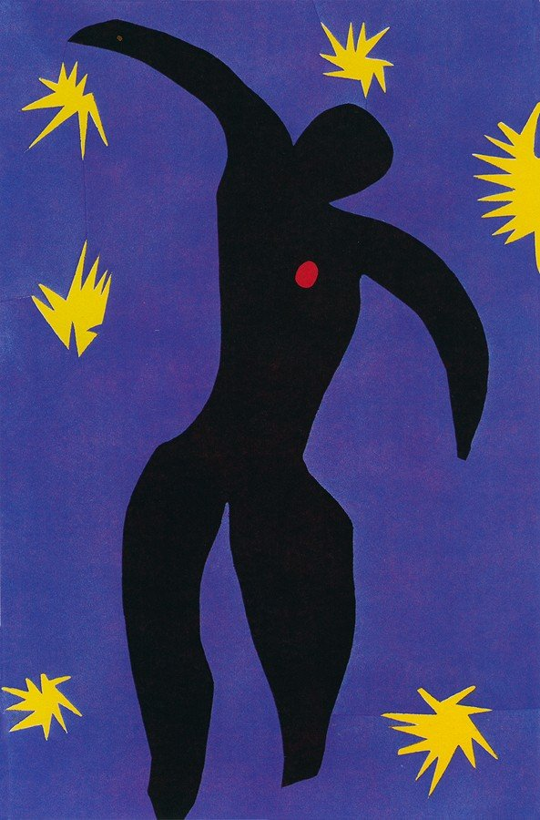 3H: Jazz - Matisse - Limited Edition Giclee on Canvas