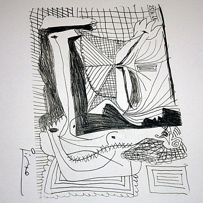 1A: Picasso limited edition lithograph