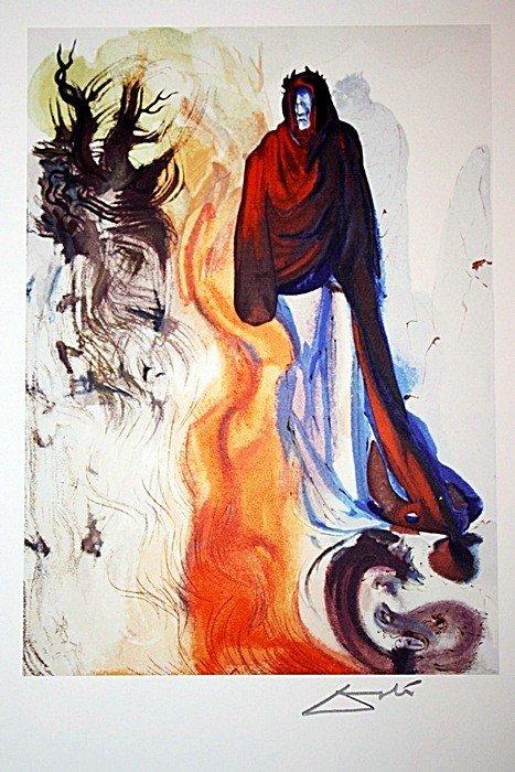 2D: Salvador Dali Woodblock
