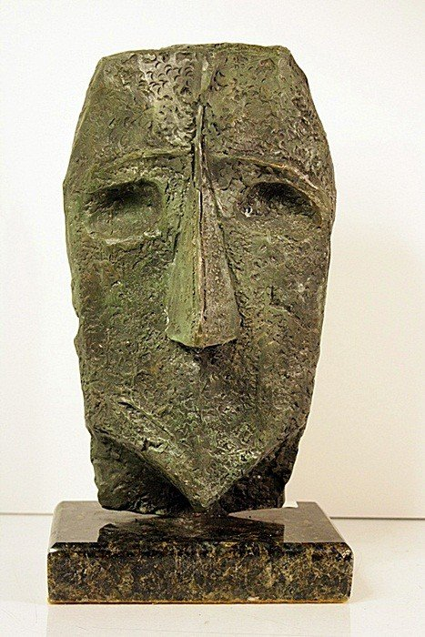2F: Max Ernst  Limited Edition Bronze - HEAD