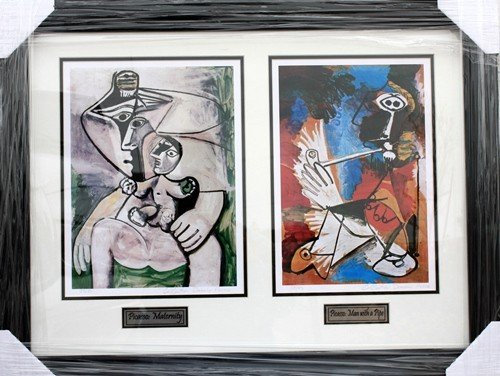"3G: One pair of Ltd. ""Picasso"" lithographs very unique"