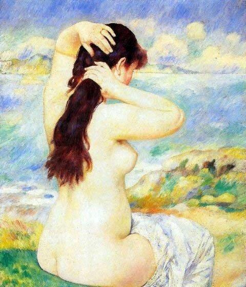 """1A: Renoir """"A Bather"""""""