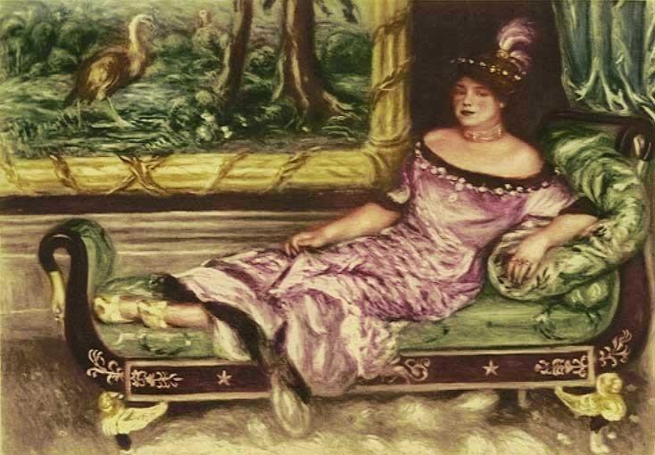 3E: Renoir - Portrait de Mme. De Galea