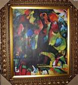 """65L: """"Picture With An Archer"""" - Kandinsky - Limited Edi"""