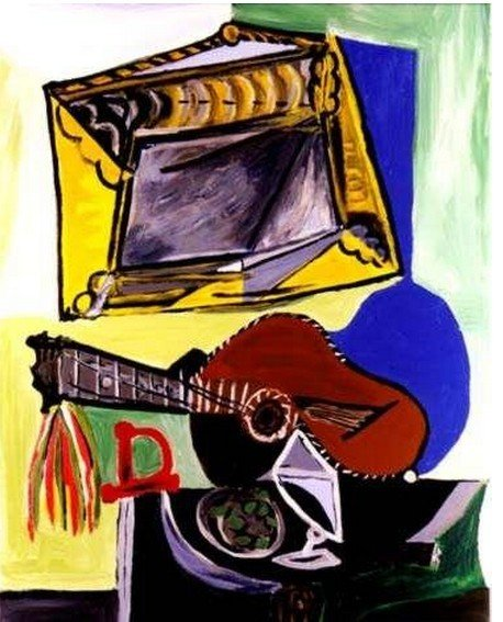 1B: PICASSO-Still Life withGuitar and Frame