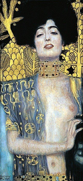 1K: Dark Haired Lady- Klimt- Limited Edition Giclee on