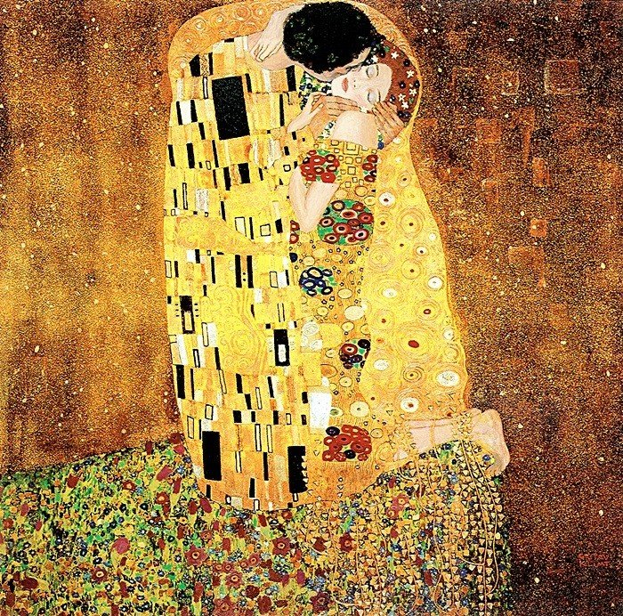 2K: The Kiss- Klimt - Limited Edition Giclee on Canvas