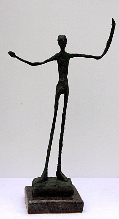 """20F: Alberto Giacometti  """"Walking Man II"""" Limited Editi"""