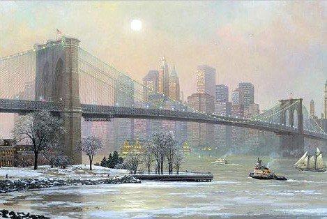 1A: Alexander Chen - Brooklyn Bridge Camber Winter, Mix
