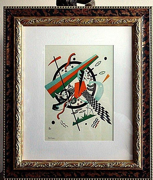 "1K: Kandinsky ""Small World"" Ltd. Ed. Giclee"
