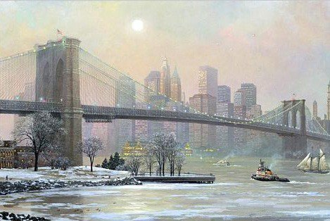 1M: Alexander Chen - Brooklyn Bridge Camber Winter, Mix