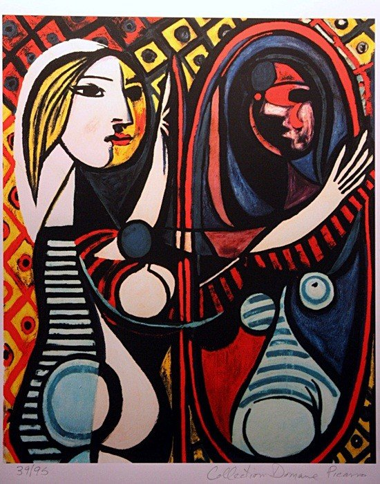 "1A: Picasso ""Girl Before Mirror"" ltd. Ed."