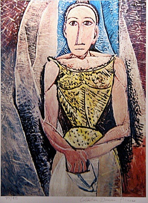 "3A: Picasso ""Woman in Yellow"" ltd. Ed."