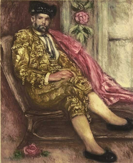 1G: Renoir - Portrait en Toreador