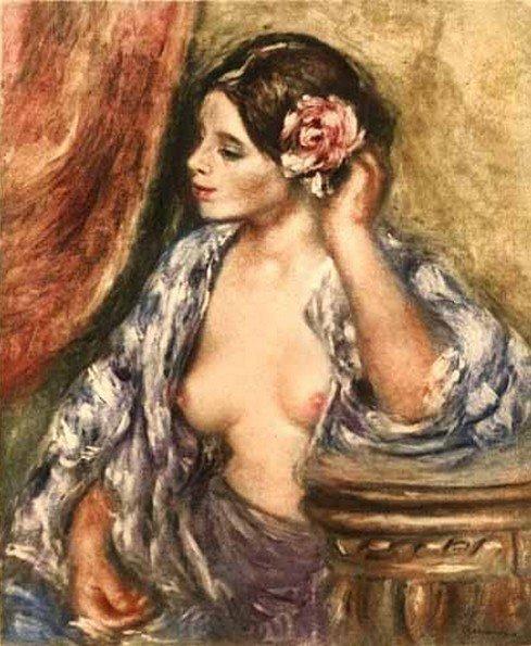 2G: Renoir- Femme a sa Coiffure