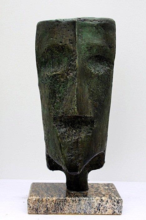"""2Y: Max Ernst  """"HEAD""""  Limited Edition Bronze Sculpture"""