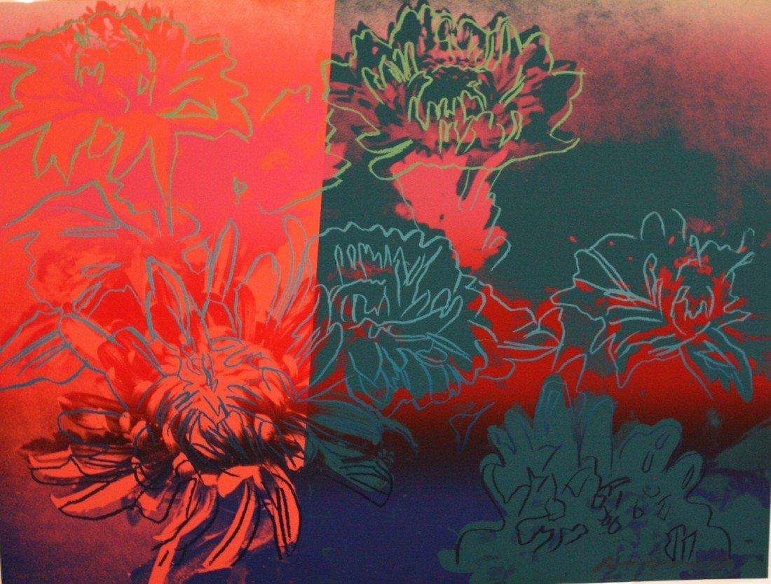 """27Z: Warhol """"KiKu"""" Original Artist Proof Screenprint"""