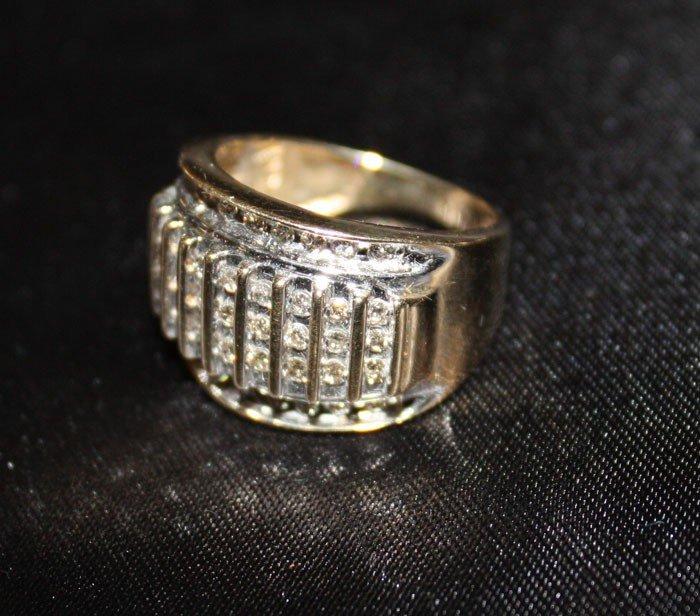 9P: 1.0 cts. Diamond ring