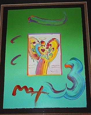 4I: Peter Max Original Mixed Media
