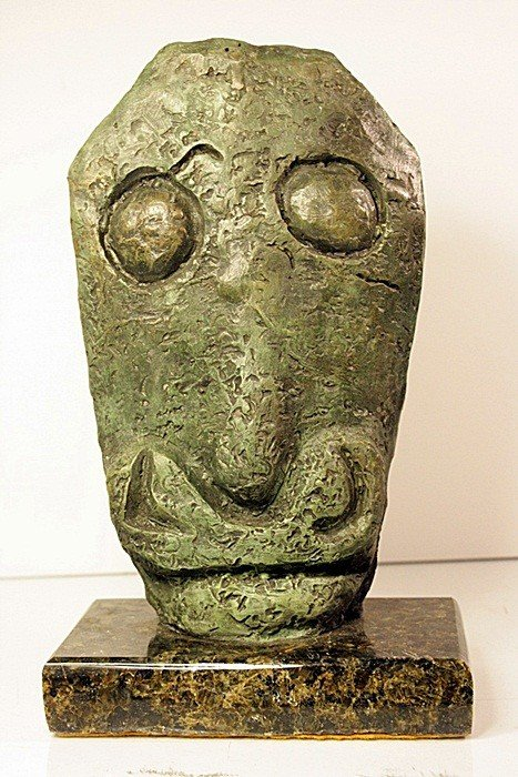 "4:  Pablo Picasso ""GLASS""  Limited Edition Bronze Sculp"