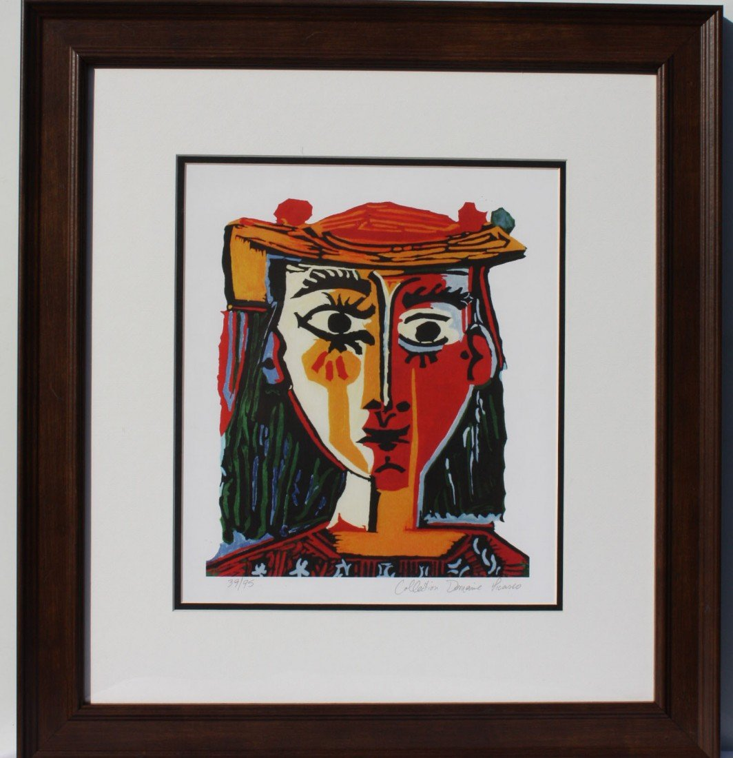 "6P: Picassso ""Bust of a Woman with Hat"""