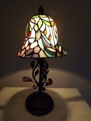 1L: Stained glass table lamp