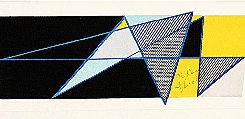 """8T: Litchtenstein """"Imperfect"""" Original lithograph"""