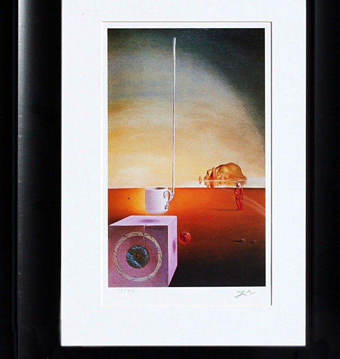 "3Q: Dali ""Giant Flying Mocca"" Lithograph Ltd.ed."
