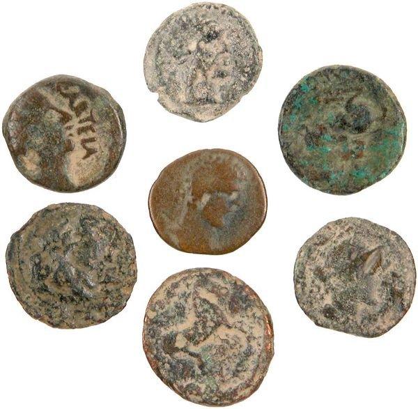 0002: ANCIENT GREEK BRONZE COINS