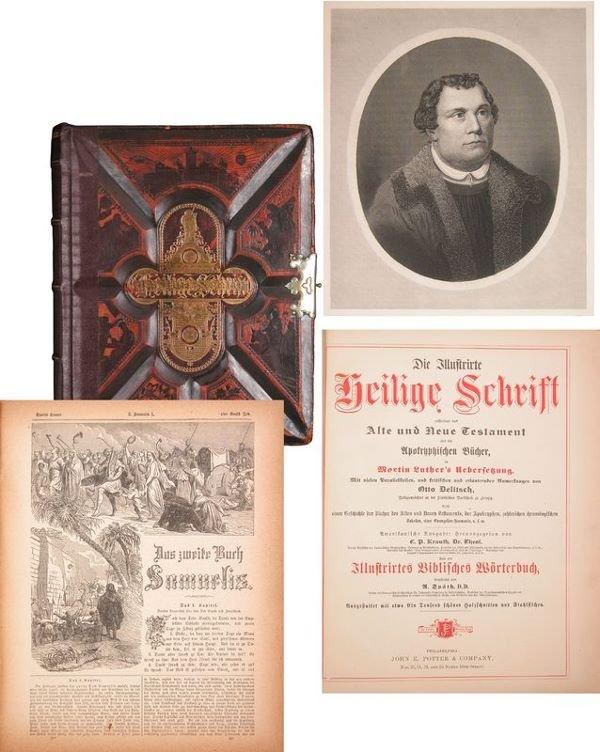 0015: SCHRIFT GERMAN TRANSLATION OF OLD & NEW TESTAMENT