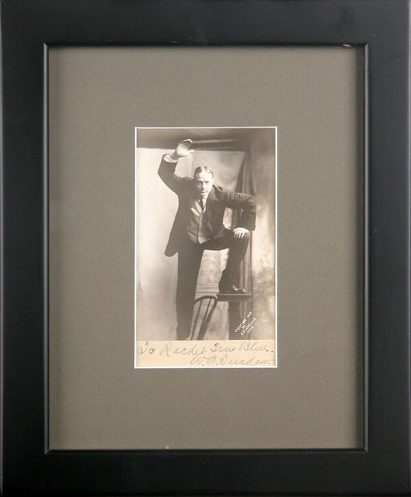 0022: BILLY SUNDAY SIGNED PHOTO