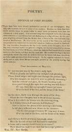 0134: FIRST MAGAZINE PRINTING OF DEFENCE OF FT. MCHENRY
