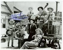 ROY ROGERS SIGNED PHOTO WITH SONS OF PIONEERS