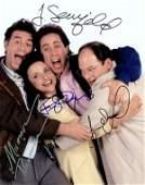 1293 SEINFELD CAST SIGNED PHOTO