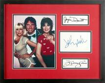 1348 THREES COMPANY STARS SIGNATURES WPHOTO DISPLAY